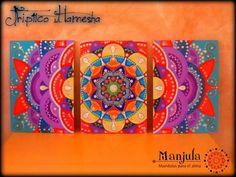 Peacock Painting, Mandala Painting, Dot Painting, Mandala Art, Painting Canvas, Mural Wall Art, Diy Wall Art, Mandalas Drawing, Zentangles