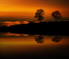 Evening Reflections by Alan Sheers, via 500px