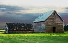 Old sheds by Across & Down, via Flickr