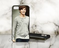 Louis Tomlinson - One Direction - Print on Hard Cover - iPhone 5 Case - iPhone 4 / 4s Case - Samsung Galaxy S3 case - Samsung Galaxy S4 case