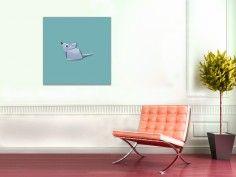 Poster Mäuschen - erhältlich auf www.klebespass.de
