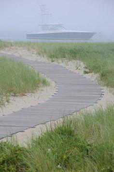 foggy day on Cape Cod ~ by Jon Gray