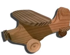 Wood Toy Airplane by KKRVenturesLLC on Etsy