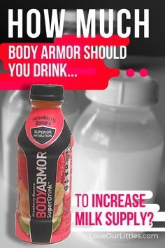 Does Body Armor drink increase milk supply for breastfeeding moms? Is this the best drink for boosting milk supply? How will Body Amor help my milk supply? Drinking Breastfeeding, Food For Breastfeeding Moms, Breastfeeding Smoothie, Boost Milk Supply, Increase Milk Supply, Milk Booster, Lactation Recipes, Lactation Cookies, Lactation Foods
