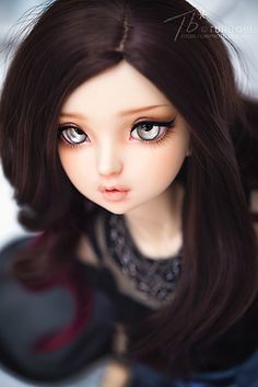 Bold Eyes On A Sweet Face Which Has A Great Sculpt And Faceup
