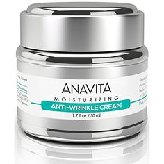 Anavita Moisturizing Anti Wrinkle Anti Aging Cream W/ Peptide & Hyaluronic Acid – Day Night – Facial Fine Lines Wrinkles Elasticity… Review