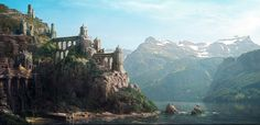 The Art of Benoit Ladouceur » Video game – digital matte painting