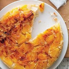 Coconut and Fresh Pineapple Upside-Down Cake by eddie
