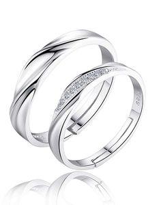 karatcart Platinum Plated Silver Crystal Elegant Couple Adjustable Ring for Men and Women Couple Ring Images, Couple Rings, Rings For Girls, Rings For Men, Elegant Couple, Fashion Jewellery Online, Couple Bracelets, Stylish Rings, Pendant Set