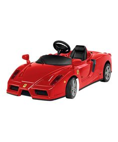 Take a look at this Enzo Ferrari Ride-On by Big Toys USA on #zulily today!