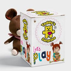 Teddy's Surprise toys - kids toys from various manufacturers. Wide choice of toys. Teddy's Surprise simplifies the choice of toys for the child. When buying Teddy's Surprise toys, the child does not see what's inside. Teddy's Surprise gives all companies equal chances to amaze kids. #toys #surprise #surprisetoys #surprisetoy  #toy #teddy #plush #plushtoys #lol #teddys #teddyssurprise #fenelinn #cutetoys #baby #babytoys Baby Toys, Kids Toys, Inside The Box, Cute Toys, Toy Chest, Plush, Stuff To Buy, Child, Childhood Toys