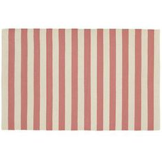 Kids Rugs: Pink Striped Patterned Rug in All Rugs $99