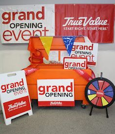 True Value Grand Opening Project