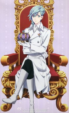 Ai mikaze. -- Anime, Uta no Prince-sama, character, official art, fancy performance clothes, character, handsome and attractive man, hot guy
