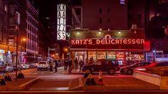 Katz's delicatessen diner on the Lower East Side, New York City.