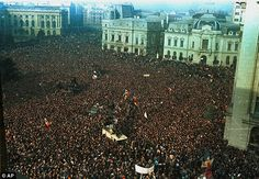 Romanian city marks 20 years since protest sparked revolution that led to fall of dictator Nicolae Ceausescu Martial, Romanian Revolution, Pop Culture Art, Europe, City Break, Countries Of The World, Historical Sites, Street Photography, Art Photography