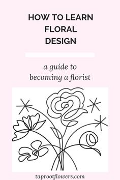 Tricks of the Trade is a free guide for aspiring floral designers that teaches the basics of cut flower care and floral design. Floral Design Classes, Flower Shop Design, Flower Designs, Floral Design School, Wedding Stage Decorations, Cut Flower Garden, Flower Art, Become A Florist, Logo Floral