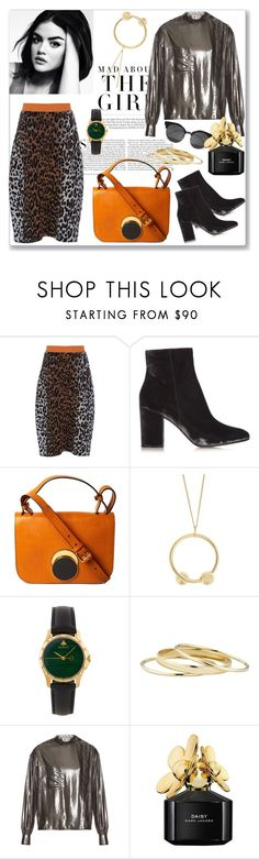 """Little taste of autumn!"" by marialibra ❤ liked on Polyvore featuring Kershaw, STELLA McCARTNEY, Gianvito Rossi, Marni, J.W. Anderson, Gucci, Minor Obsessions, Étoile Isabel Marant and Marc Jacobs"