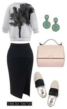 """Tricky Trend"" by vladimirovna-7 ❤ liked on Polyvore featuring Maticevski, N°21, Lanvin, Mark Broumand and Givenchy"