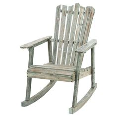 Leigh Country Rocking Chair with Texas A&M Medallion