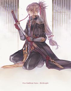 "atelierre: ""I'm smitten with his swordmaster look """