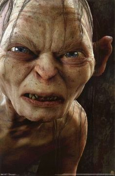 The Hobbit - Gollum Augmented Reality Poster The Hobbit Gollum, Gollum Smeagol, The Hobbit Movies, O Hobbit, Hobbit Art, Aragorn, Legolas, Gandalf, Fellowship Of The Ring