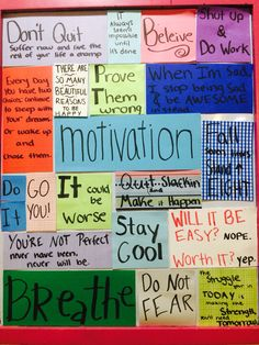 Chelsea Crockett - Motivation Board | Motivation ...