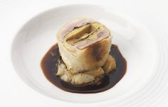 Phil Carnegie's recipe for quail and apple enclosed in strudel pastry is an inventive way to present quail. This is an exquisite quail recipe with rich flavours. Filo Pastry Sheets, Quail Recipes, English Food, English Recipes, Great British Chefs, Truffle Recipe, Strudel, Truffles, Modern