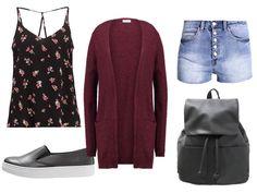 Summer fashion, chill days.