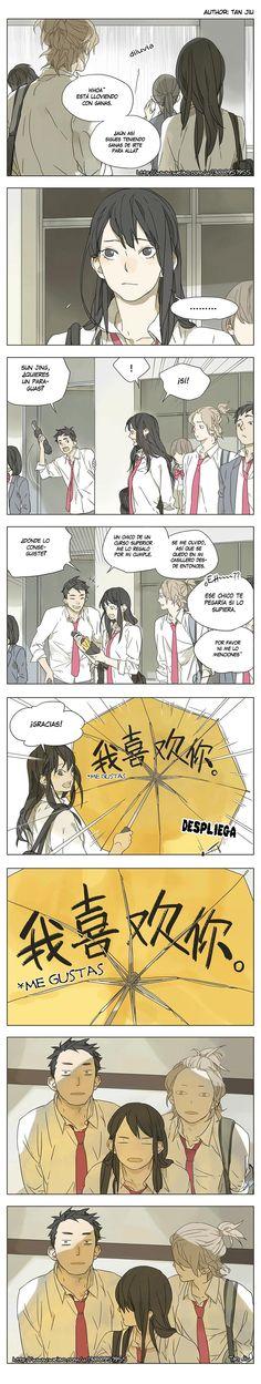 Manga Their Story - Tamen De Gushi   Capítulo 4 Página 10