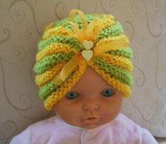 Knitting: A HAT FOR BABY