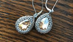 Beading Tools, Beading Tutorials, Jewelry Tools, Jewelry Making, Jewelry Ideas, Bead Crochet, Crochet Earrings, Beaded Jewelry, Handmade Jewelry