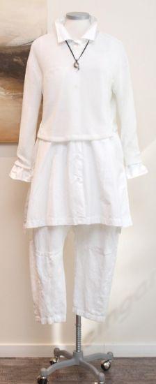 nelly johansson - Kurzpullover Abhy white - Sommer 2014 - stilecht - mode für frauen mit format...