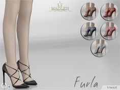 Sims 4 CC's - The Best: Madlen Furla Shoes by MJ95