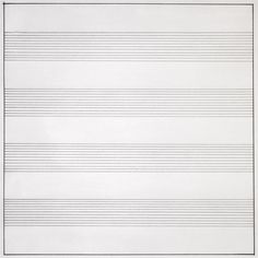 Agnes Martin, Untitled #10, 1990