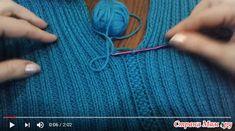 Очень простое декоративное соединение деталей крючком от Светланы Заец - Машинное вязание - Страна Мам