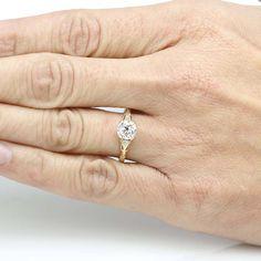 Reproduction Edwardian Engagement Ring. - 3367-02