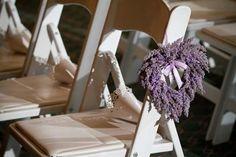 Lavender heart details