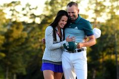 Angela Akins, Sergio Garcia's fiancee, may be the secret behind his Masters success