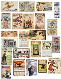 Vintage Labels by Joripon