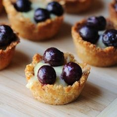 Biscotti Dessert Cups: Bite Size Treats with Italian Flair  like the idea of biscotti instead of tart dough.. .