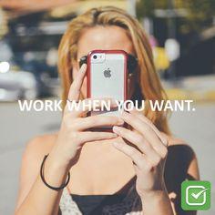 The gig economy allows you to pursue your interests and passions. #sharingeconomy #gigeconomy #ondemand #ondemandeconomy #ondemandapp #it #tech #technology #uber #airbnb #lyft #gig #freelancework #freelancers #freelancenation #workfromhome #career #millennials #sidehustle #makemoney #futureofwork #workwhenyouwant