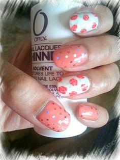 Rose Blossom Nails~ 玫瑰花指甲~ | chichicho~ nail art addicts