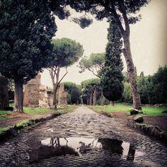 Via Appia Antica in Roma, Lazio
