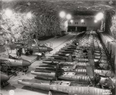 A secret Nazi underground nuclear plant has been discovered in northern Austria, 70 years after the end of World War II. Bunker, Ww2 Aircraft, German Army, Luftwaffe, War Machine, Military History, World War Two, Wwii, Fighter Jets