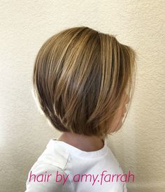 Little Girl Bob Haircut IG: amy.farrah