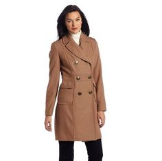 Kenneth Cole New York Women's Double Breasted Wool Coat | 100 Gorgeous Fall Jackets For Under $100