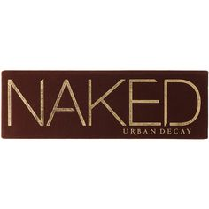 Urban Decay Naked Palette (375 DKK) ❤ liked on Polyvore featuring beauty products, makeup, eye makeup, eyeshadow, eyeshadow brushes, palette eyeshadow, urban decay eye shadow, primer eyeshadow and eye pencil makeup