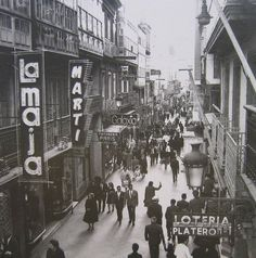 Rúa Real da Coruña (1968) Rotterdam, Street View, Memories, Black And White, City, Relleno, Painting, Black Photography, Dreams