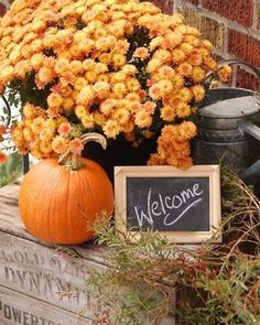 Pumpkin Display, Autumn Display, Wooden Crates Christmas, Happy Fall Yu0027all,